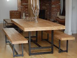 dining table bench easy sets