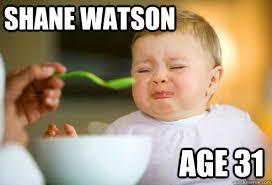 Shane Watson memes | quickmeme via Relatably.com