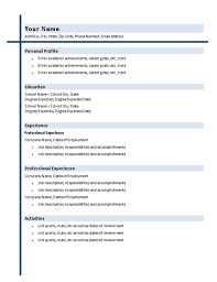 college graduate resume with shading   resumes and cv templates    college graduate resume with shading   resumes and cv templates   ready made office templates