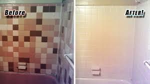 reglazing tile certified green:  reglazing tile with gfr commercial tub reglazing tile refinishing tile reglazing