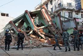 second earthquake hits