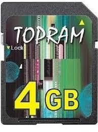3c_expert: TOPRAM <b>4GB 4G SD</b> V1.1 Secure Digital Flash <b>Memory</b> ...