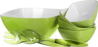 "Набор для <b>салата</b> Emsa ""Vienna"", цвет: зеленый, белый, <b>7</b> ..."