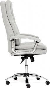 <b>Кресло Tetchair SOFTY Lux</b> ткань, серый, мираж грей купить в ...