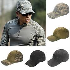 <b>Outdoor Tactical Sports</b> Camouflage Hat <b>Unisex</b> Baseball Cap With ...