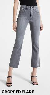 Women's <b>Cropped Jeans</b> - Express