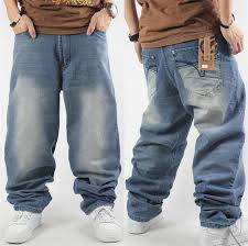 Harem Style Big Yards Jeans Male Tide Of New Hip Hop Baggy ...