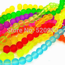Top quality <b>100PCs Mixed</b> Double <b>Color Acrylic</b> Rubber Beads ...