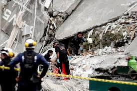 Cerca de 192 personas trabajan en las labores de rescate, entre los escombros del edificio Space