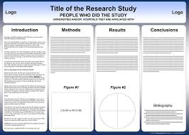 powerpoint scientific research poster templates for printing 140x100 cm poster presentation template ·