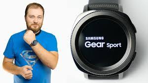 Обзор умных часов <b>Samsung Gear Sport</b> - эволюция с мыслью о ...