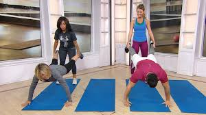 Work out with a friend doing these fun partner exercises - TODAY.com