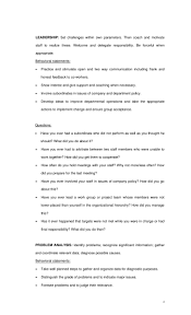list of competency based interview questions 3 4