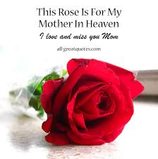 My Mother In Heaven Quotes. QuotesGram via Relatably.com