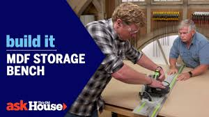 <b>MDF Storage Bench</b>   Build It   Ask This Old House - YouTube