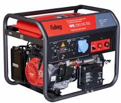 <b>Бензиновые сварочные генераторы</b> WS с двигателем <b>FUBAG</b> ...