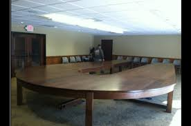 Ohio: State <b>carpenters made</b> and illegally installed a conference table