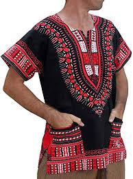 Men Tops Fashion Short Sleeve Summer African ... - Amazon.com