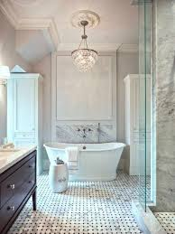 fancy bath lighting inspiration and tips for hanging a chandelier over the bathtub apartment chandeliers bathrooms lighting bathroom