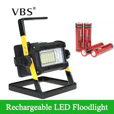 <b>Super Bright</b> Outdoor LED Floodlight Rechargeable <b>36LEDS</b> ...