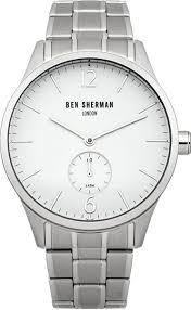 Купить Мужские наручные <b>часы BEN SHERMAN</b> - <b>WB003WM</b> ...