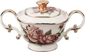 <b>Сахарница Lefard Корейская роза</b>, 215-022, с крышкой, 300 мл ...