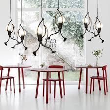 Iron <b>Art</b> Climbing Ceiling <b>Lamp</b> Industrial <b>Vintage Creative</b> pendant ...