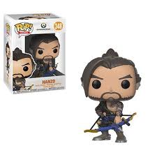 Overwatch Hanzo <b>Pop</b>! <b>Vinyl Figure</b> #348 **SALE** 889698322720 ...