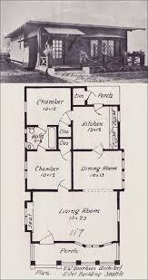 Cottage Bungalow Plan   Western Home Builder   Vintage House     Western Home Builder   No