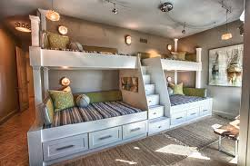 beautiful white grey wood glass unique design furniture kids rooms ideas built in bunk beds wood awesome white brown wood glass unique design
