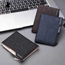 WILLIAMPOLO Men Wallet Mini Small <b>Thin</b> Wallet for Man Leather ...
