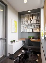awesome office workspace modern designs ideas small home with varnished wooden floating office table also white awesome shelfs small home