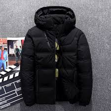 Hot Sale Male <b>Down Jacket</b> Thick Hooded Windproof <b>2018 Winter</b> ...