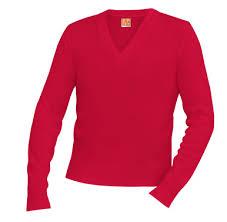 Unisex <b>V</b> -<b>Neck Long Sleeve Pullover</b> Sweater - Caprock ...