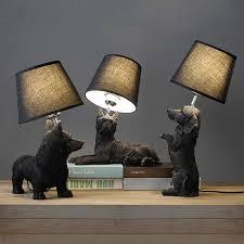 <b>Modern Black Monkey Lamp</b> Resin Hemp Rope Seletti Monkey ...