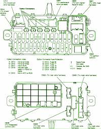 honda civic fuse box 2003 honda wiring diagrams