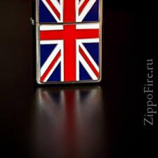 <b>Зажигалка Zippo</b> (Зиппо) 200UJ <b>Union Jack</b> - ZippoFire
