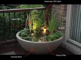 diy patio pond: small diy patio ponds using recyclable items found around the home pond small patio ideas organicoyenforma