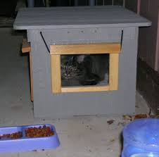 outside cat house for the outdoor cats3 cat safe furniture