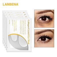 <b>LANBENA</b> Eye mask serum <b>5Pair</b>/<b>10PCS</b> Gold collagen <b>24k</b> gold ...