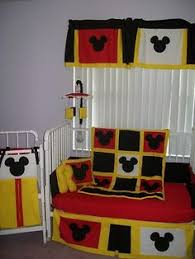 new mickey mouse crib bedding set baby mickey crib set design