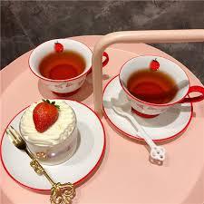 Сладкая <b>девушка</b> сердце клубника керамическая кофейная ...