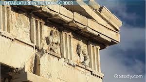 ancient greek architecture  dorian  ionic  amp  corinthian   video    greek doric order of architecture  definition  amp  example buildings  amp  columns
