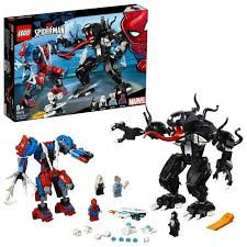 <b>LEGO Super Heroes</b> Spiderman Spider Mech vs Venom <b>76115</b> ...