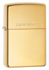 Каталог <b>Зажигалка ZIPPO Classic с</b> покрытием High Polish Brass ...
