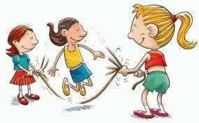 100 brincadeiras, anos iniciais,educação infantil,educação física,pular corda, crianças,escola,amigos