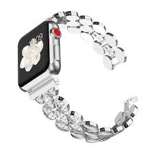 Wearlizer Silver Womens Compatible with - Buy Online in El ...