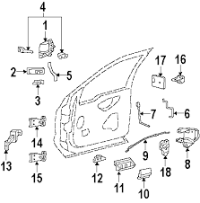 Ford F250 Front Door Lock  E