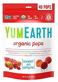YumEarth Organic Lollipops, 8.5 Ounce Bag ... - Amazon.com