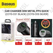 Jual <b>Baseus</b> 30W USB Type C PPS PD QC3.0 VOOC Fast <b>Charging</b> ...